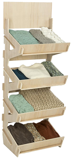 Shelving Made Built with Plywood
