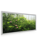 Silver Frame for Panoramic Print