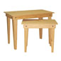 Oak Nesting Tables with Stain