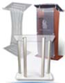 acrylic podium can be used in all kinds of events