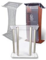 acrylic podiums
