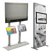 point of sale TV stands