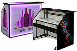Portable Event Bars with Custom Graphics