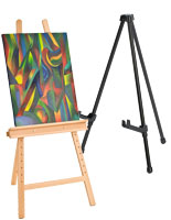 These easels are highly portable and easy to carry from room to room.