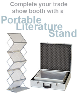 Portable Literature Stands