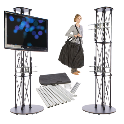 portable stands and trade show kits