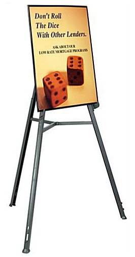 trade show portable easel