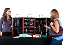 portable jewelry display cases for countertop. Black Bedroom Furniture Sets. Home Design Ideas