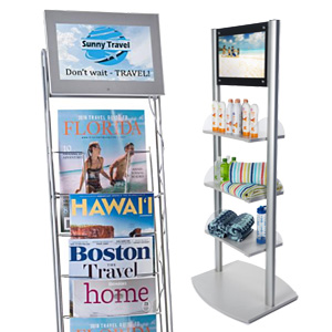 Point-of-Sale Digital Display Fixtures