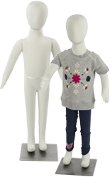 Bendable Child Mannequin with Flexible Limbs