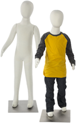"42"" Tall Adjustable Child Mannequin"