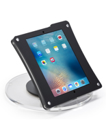 Black iPad POS Enclosure for Retail Stores