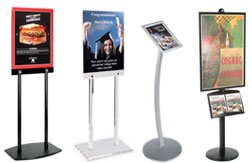 Poster and Sign Stands