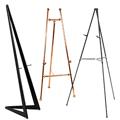 Poster Easels Frame Stands For Displaying Ads Signs Or Art