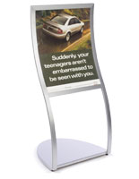 poster holder stand
