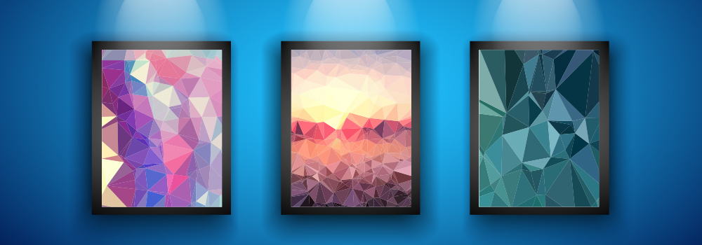 Backlit poster frames