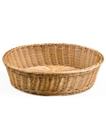 food-serving woven baskets