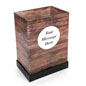 "4"" Deep Custom Wood Print Dump Bin Display for Point of Sale Locations"