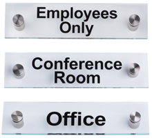 Featured Pre Printed Office Wall Signs