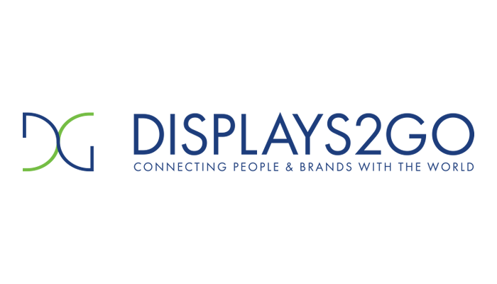 Displays2go logo
