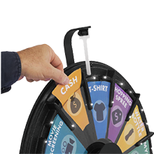 Prize Wheels with Prizes for Your Trade Show Viewers