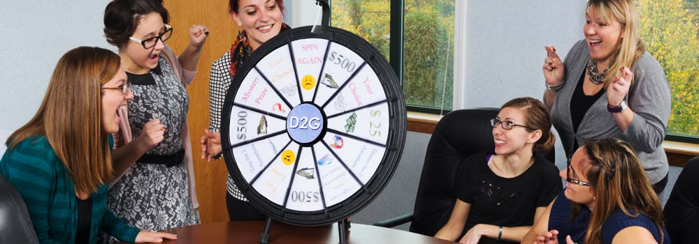 Team Prize Wheel Games