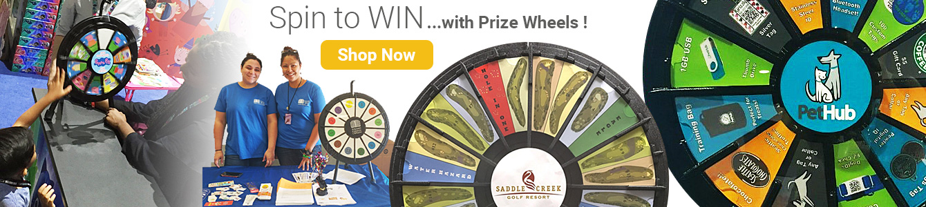 Prize Wheels for Events and Promotions