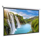 "108"" Motorized Electric Projector Screen with Black Backing for Color Vibrance"