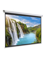 "90"" Electric Projection Screen for Wall or Ceiling Mounting"