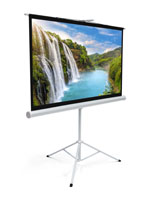 "72"" Tripod Portable Projection Screen with 160° Viewing Angle"