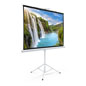 "90"" Portable Tripod Projector Screen Knockdown/Portable"