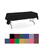 Rectangle tablecloths with machine washable polyester material