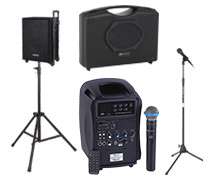 Portable Microphone and Speaker Kits