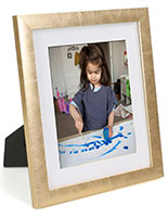 "8"" x 10"" Photo Frames with Beautiful Gold Profile"