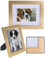 4 x 6 Gold Photo Frame with Metallic Finish