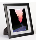 "5"" x 7"" Mat Picture Frame for Tabletop or Wall Mount Use"