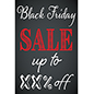 24 x 36 Black Friday sign with personalized text