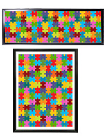 Puzzle frames in standard 18 x 24 and 13 x 39 panoramic formats