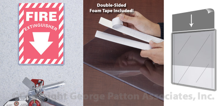 Plastic Poster Sleeves 5 X 7 Sign Holder For Window Or Wall