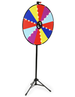 LED Lighted Prize Wheel