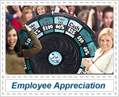 prize wheels for employee appreciation events