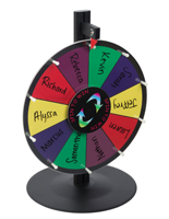 Spin to Win Prize Wheel with Dry Erase Surface