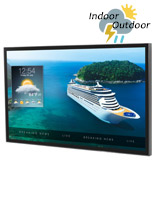 "55"" weatherproof outside television"
