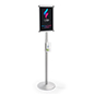 Floor Standing Hand Sanitizer Dispenser Great for Offices
