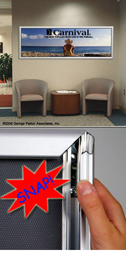 Purchase 22 X 56 Metal Snap Frames For Maximum Brand