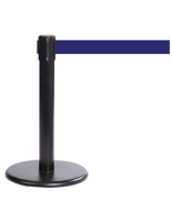 "Short Museum Stanchion, 24"" Tall"