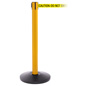 Yellow Retractable High Visibility Stanchion