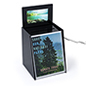 Customizable Ballot suggestion box with video screen