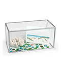 "Tabletop 10"" x 20"" acrylic collectible display"