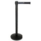 Stanchion with Black Printed Belt Includes 3 Color Silkscreen Graphics